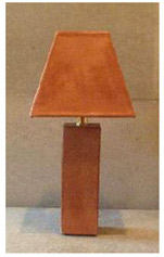 Small Leather Lamp